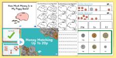 Money Games KS1 Resource Pack