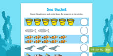 Sea Bucket Counting Sheet