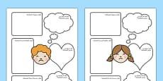 Bullying Activity Sheets Arabic