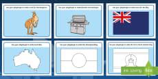 Australia - Australia Day Playdough Mat