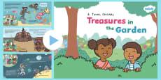 Treasures in the Garden Story PowerPoint