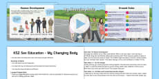 * NEW * My Changing Body KS2 Activity Pack