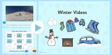 Winter Video PowerPoint