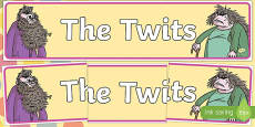 Display Banner to Support Teaching on The Twits