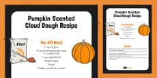 Pumpkin Scented Cloud Recipe