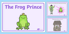 The Frog Prince Story Sequencing