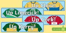 Munster Counties GAA Display Banner