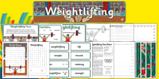 Rio 2016 Olympics Weightlifting Resource Pack