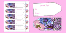 Florist Role Play Gift Tags