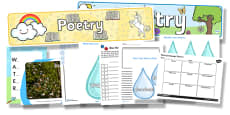 National Poetry Day Water Themed Resource Pack