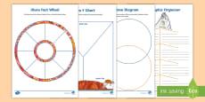 * NEW * Uluru Graphic Organiser Activity Sheets