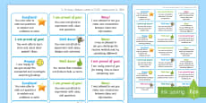 * NEW * NI Thinking Skills and Personal Capabilities Being Creative Marking Stickers