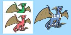 Editable Dragon