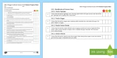 AQA (Trilogy) Unit 5.8 Chemical Analysis Student Progress Sheets