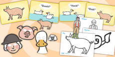 Story Sack Resource Pack to Support Teaching on Pig in the Pond