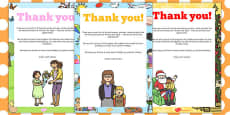 End of Term Editable Thank You Poster Pack