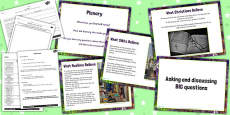 Religious Education Asking and Discussing BIG Questions Lesson Teaching Pack