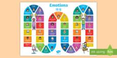 Emotions Board Game English/Mandarin Chinese