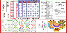 KS1 Christmas Maths Activity Pack