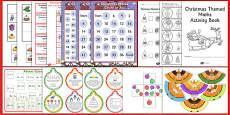 KS1 Christmas Maths Activity Pack