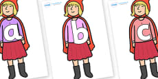 Phoneme Set on Red Riding Hood to Support Teaching on The Jolly Christmas Postman