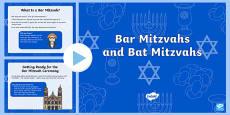 Bar Mitzvahs and Bat Mitzvahs