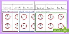 Bingo: La hora - En punto