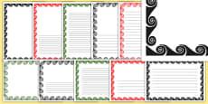 Koru Page Borders Pack