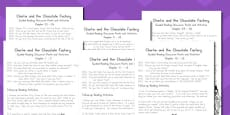 Australia - Levelled Guided Reading Questions Pack to Support Teaching on Charlie and the Chocolate Factory