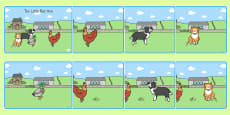 The Little Red Hen Story Sequencing
