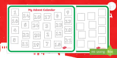 Design an Advent Calendar Activity