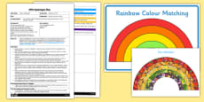 EYFS A Rainbow of Food Adult Input Plan and Resource Pack