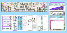 Australia - Resource Pack to Support Teaching on Charlie and the Chocolate Factory