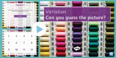 Variation Quiz PowerPoint
