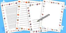 Page Borders to Support Teaching on Farmyard Hullabaloo