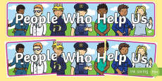 People Who Help Us Display Banner
