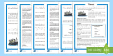 Titanic Differentiated Reading Comprehension Activity English/Arabic