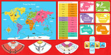 Christmas Around the World Board Game