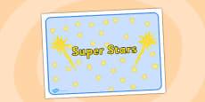 Super Stars Group Sign