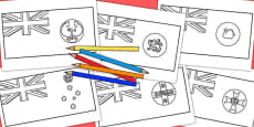 Australia - Australian States Colouring In Flag Pack