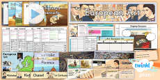 Art: European Art LKS2 Unit Pack