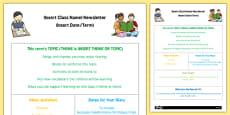 Childminder Editable Newsletter
