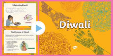 Diwali Video PowerPoint