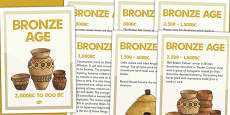 Bronze Age Timeline Posters
