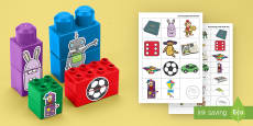 * NEW * Toys Matching Connecting Bricks Game