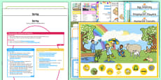 Childminder EYFS Spring Activity Web and Resource Pack