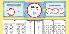 Telling the Time Boat Trip Times PowerPoint Task Setter Romanian