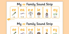 My EE Sound Family Strip