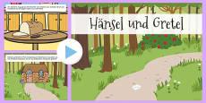 Hansel and Gretel Story PowerPoint German