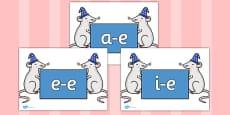Modifying E Letters on Magic Mice